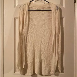 Roxy Knit Cardigan in Cream